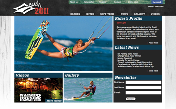Naish Kites Website