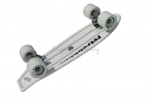 "MBS Atom 21"" Mini Retroh Molded Skateboard - White"