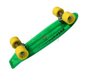 "MBS Atom 21"" Mini Retroh Molded Skateboard - Green"