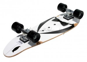 "MBS Atom 27"" Mini Kick-Tail Longboard"
