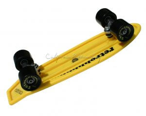 "MBS Atom 21"" Mini Retroh Molded Skateboard - Yellow"