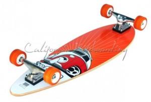 MBS Atom Mini-Pintail Longboard
