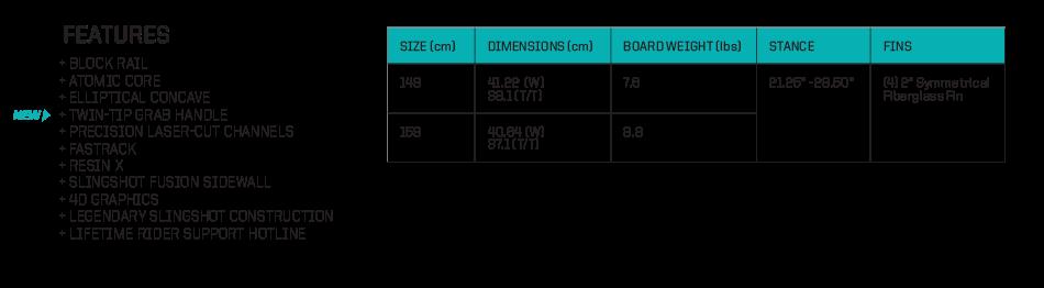 2016 Slingshot Glide Features