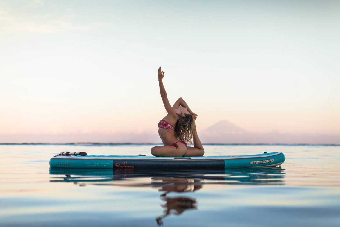 How to Get Started with SUP Yoga