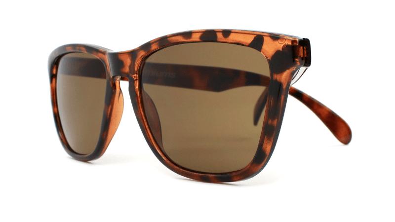 37510e06aed Knockaround Glossy Tortoise Shell   Amber Classics - California ...