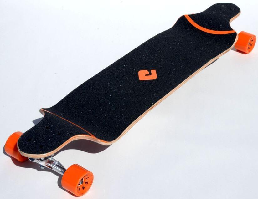 "Atom 41"" Drop Deck Longboard - Orange - California ..."