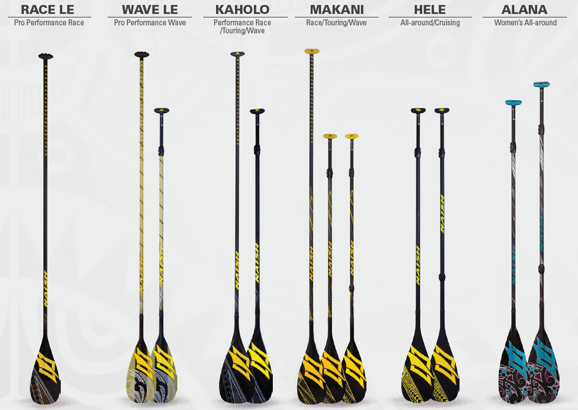 New 2016 Naish Paddles